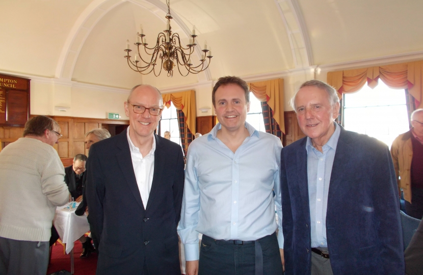 Nick Gibb, Tom Tugendhat and Geoffrey Walker
